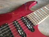 1993 Grover Jackson Japan Dinky Slim Electric Guitar (Candy Apple Red)