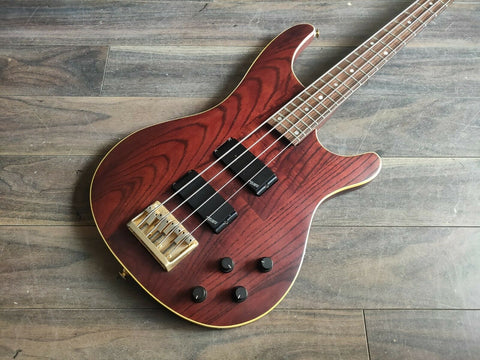 1990 Greco Japan PS-850 Pegasus Bass (Dark Brown Ash)