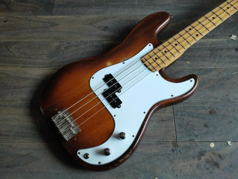1978 Greco Japan PB-450 Precision Bass (Violin Burst) MIJ
