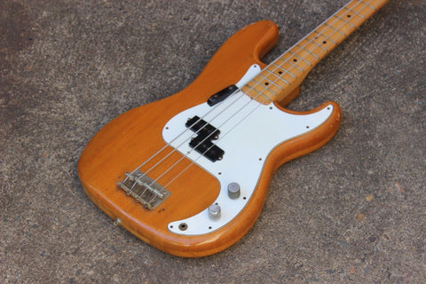 1976 Westminster Japan Precision Bass Matsumoku P-Bass (Natural)