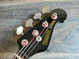 1981 Yamaha Japan JB500R Jazz Bass MIJ (Black)