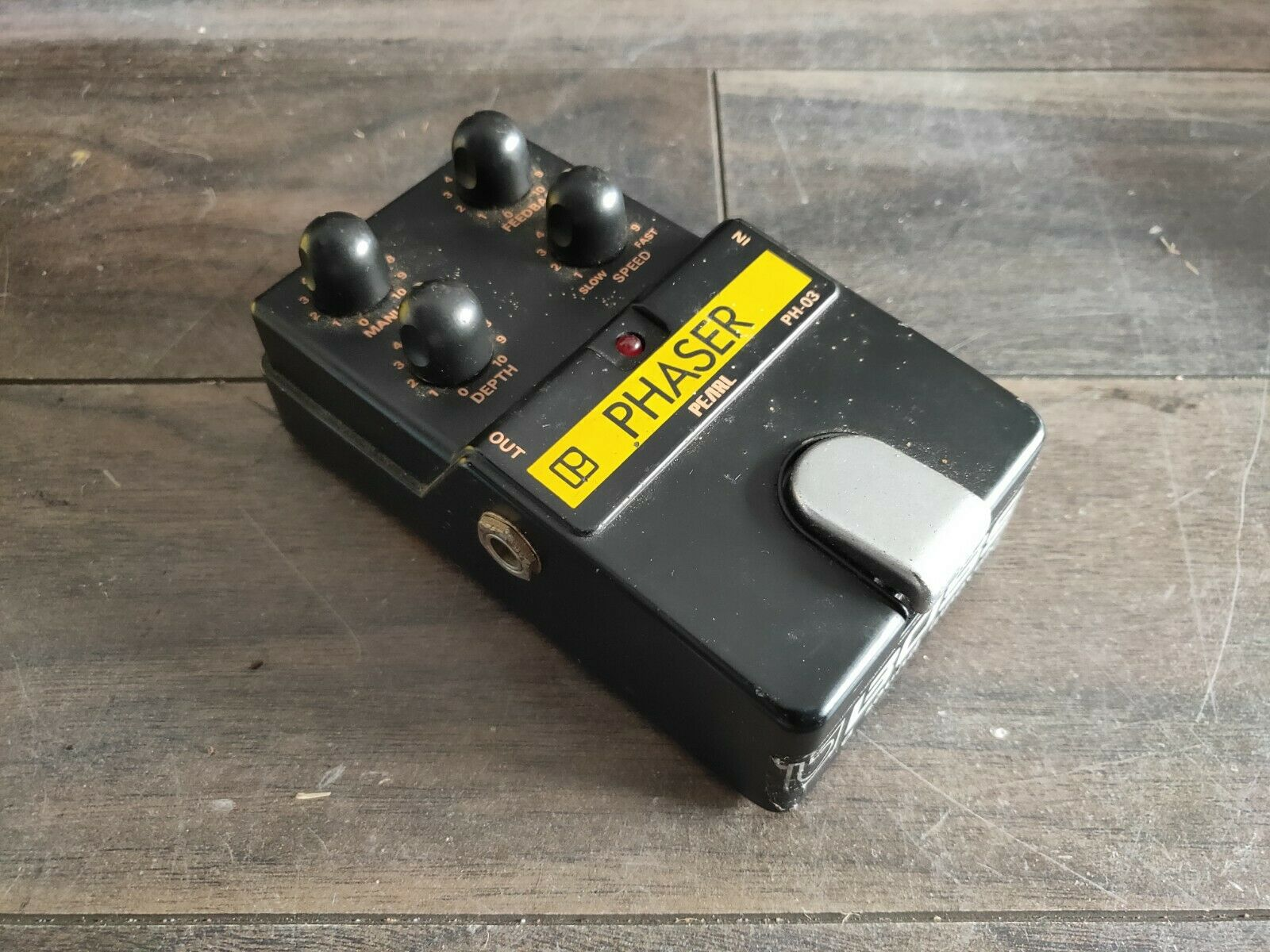 1980's Pearl PH-03 Phaser MIJ Japan Vintage Effects Pedal