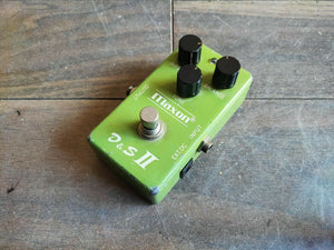 1978 Maxon D&S II Distortion Sustainer Overdrive MIJ Japan Vintage Effects Pedal