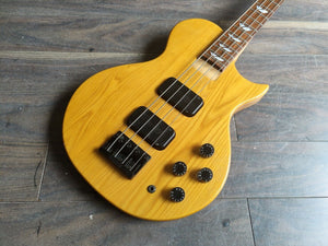 1994 Burny (Fernandes) Japan LSB-85 Les Paul Bass (Natural)