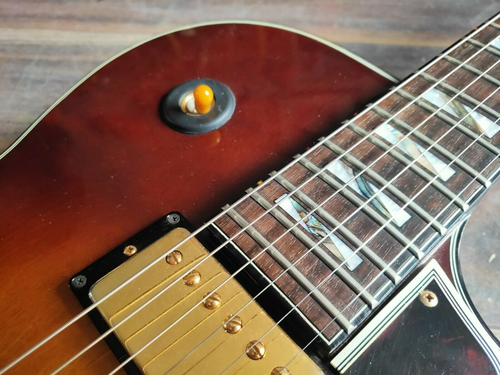 1988 Greco Japan Super Real Series RS-90 Semi Hollowbody Electric Guitar w/Case