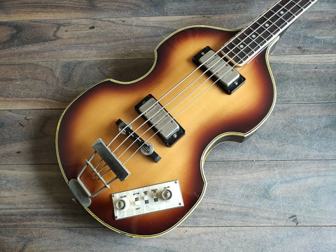 1980 Greco VB-500 Violin Beatle Bass (Made in Japan)