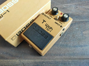 1981 Boss TW-1 Touch Wah Auto Filter MIJ Japan Vintage Effects Pedal w/Box