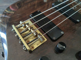 2000's Edwards (by ESP) Japan E-T-98FR F Series Bass (Dark Brown)