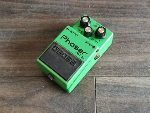 1983 Boss PH-1r Phaser MIJ Vintage Effects Pedal