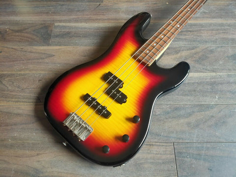 1981 Diamond (Tokai) Japan PJ Jazz/Precision Bass (3-Tone Sunburst)
