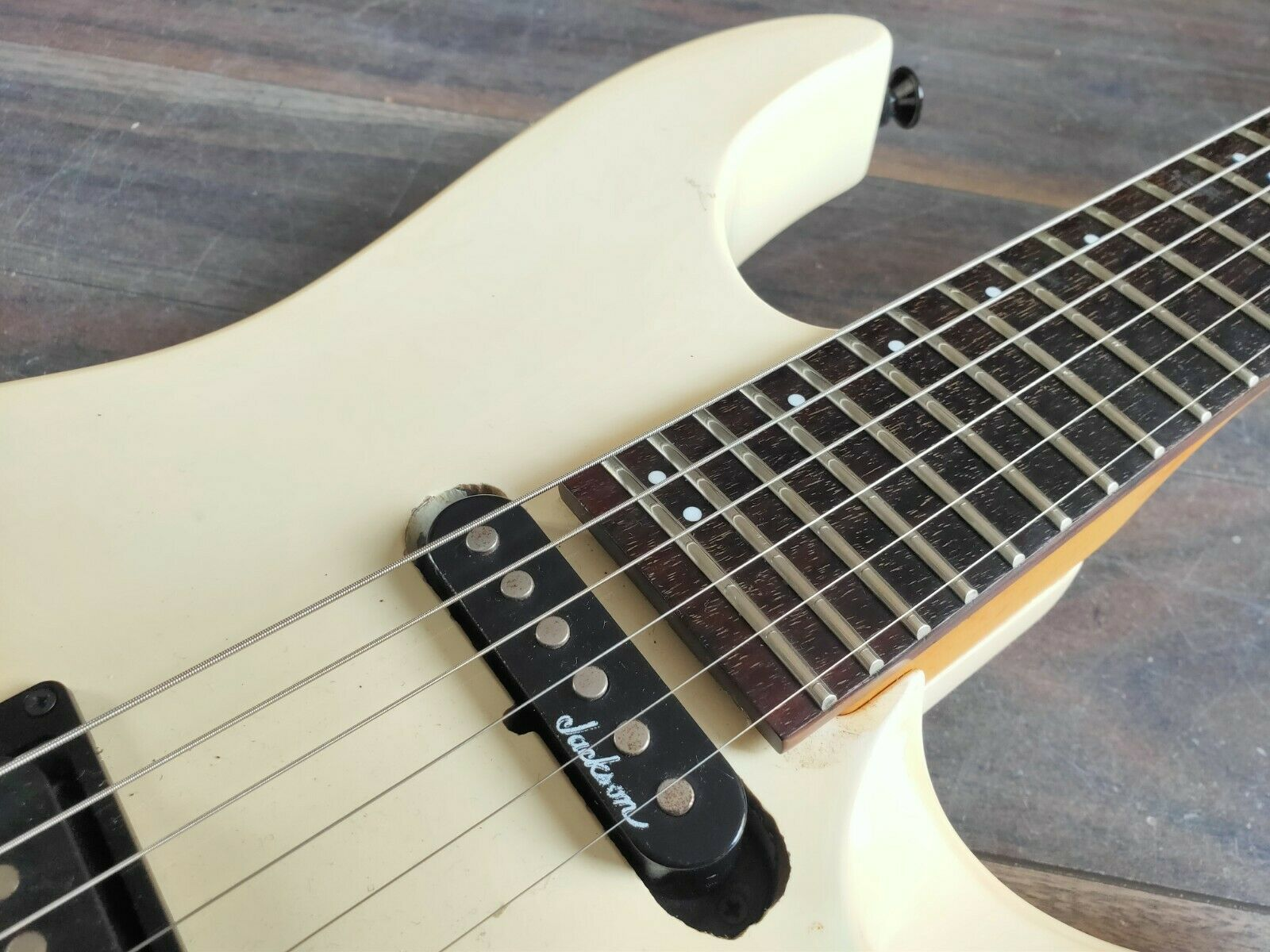 1991 Charvel Jackson Japan SDK-070 Super Dinky (White)
