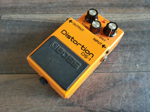 1985 Boss DS-1 Distortion MIJ Vintage Effects Pedal