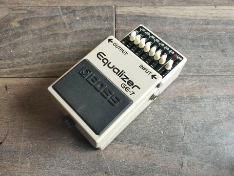 2012 Boss GE-7 Graphic Equalizer EQ Effects Pedal