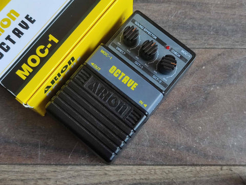Arion MOC-1 (Boss OC-2 Style) Octave Vintage Effects Pedal w/Box