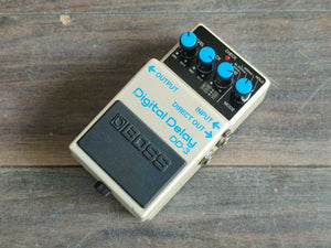 1986 Boss DD-3 Digital Delay Long Chip Vintage MIJ Japan Effects Pedal