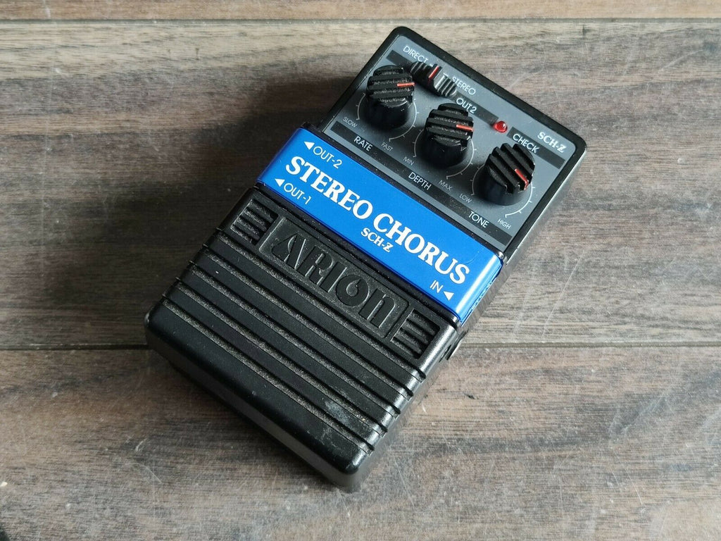 Arion SCH-Z Stereo Chorus Effects Pedal
