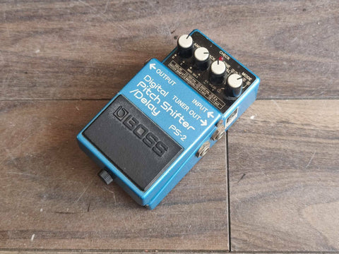 1980's Boss PS-2 Digital Pitch Shifter Delay MIJ Japan Vintage Effects Pedal