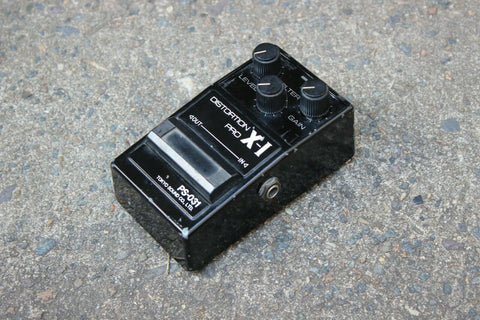 1980's Guyatone PS-031 Distortion Pro X-I MIJ Japan Vintage Effects Pedal