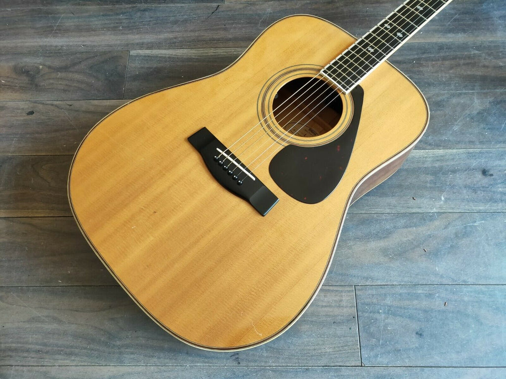1970's Yamaha Japan L-5 Acoustic Guitar w/Pickup and Hardcase