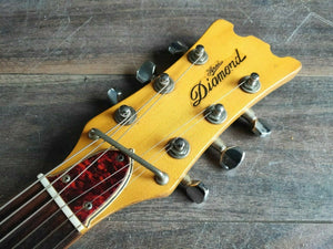 1960's Aria Diamond 1702T Mosrite Style Vintage Guitar (Made in Japan)