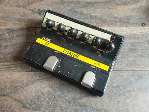 1980's Pearl PH-44 Phaser MIJ Japan Vintage Effects Pedal
