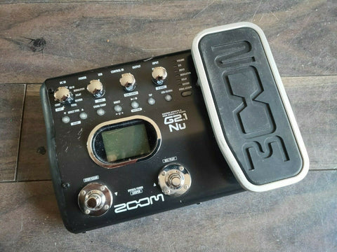 ZOOM G2.1nu Guitar Multi Effects Pedal / Audio Interface