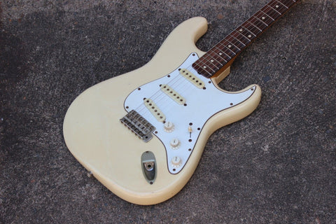 1983 Squier (by Fender) Japan JV Series Stratocaster MIJ (Vintage White)