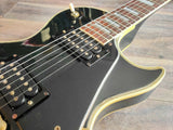 1978 Greco Japan EG-500C Les Paul Custom (Ebony)