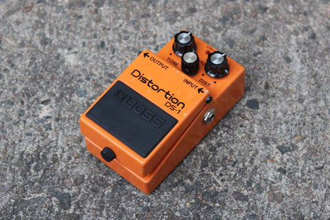 Vintage Boss DS-1 Distortion MIJ Circuit Vintage Effects Pedal