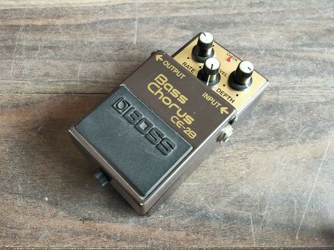1989 Boss CE-2B Bass Chorus MIJ Japan Vintage Effects Pedal