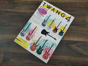 1984 Fender Twang 4 Squier Japan Contemporary E Series Guitar and Bass Catalog