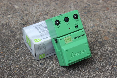 Limited Edition Green Ibanez TS7 Tubescreamer Tone-Lok Vintage Effects Pedal