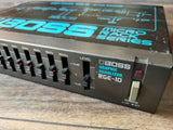1980's Boss RGE-10 Preamp Graphic EQ MIJ Japan Vintage Effects Rack