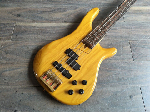 1989 Fernandes Japan FRB-80 Revolver Active Bass (Natural)