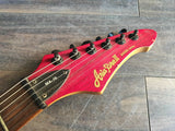 Aria Pro II MA-15 Superstrat Electric Guitar (Trans Red)