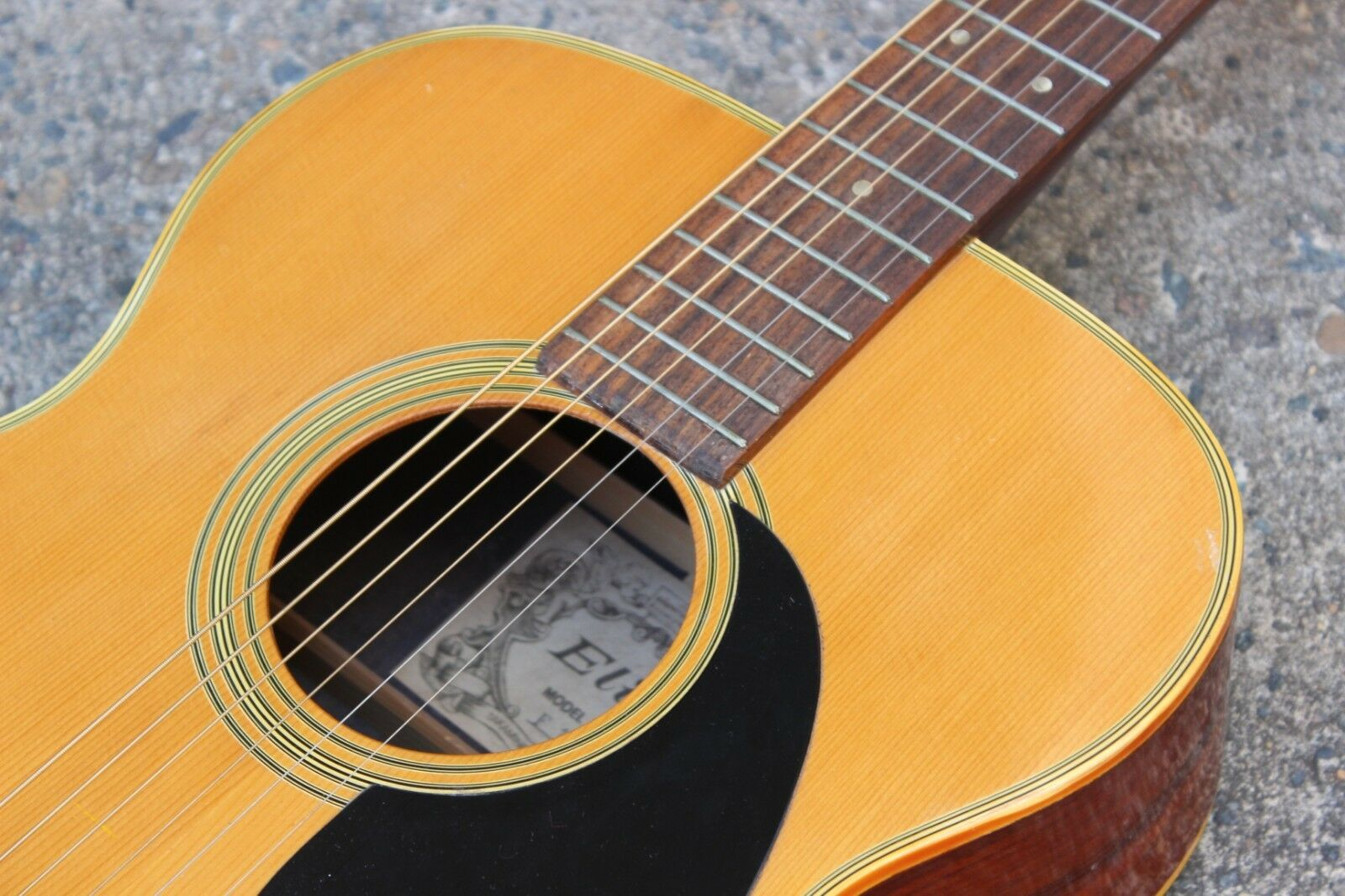 1973 Takamine Elite F-170 Parlor Acoustic Guitar (Made in Japan)