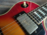 1975 Greco Japan EG-550R Les Paul Custom (Cherry Sunburst)