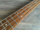 1999 Burny (Fernandes) Japan WSB-80EV Luna Signature Model Bass (Silverburst)