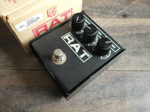 "1994 Proco Rat ""Flat Top"" LM308 Distortion Vintage Pedal (Made in the USA)"