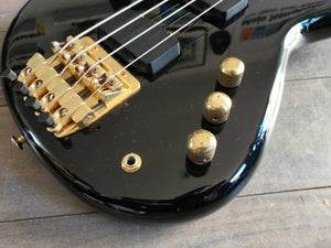 1980's Yamaha Japan Motion B MB-II Short Scale Bass (Black)