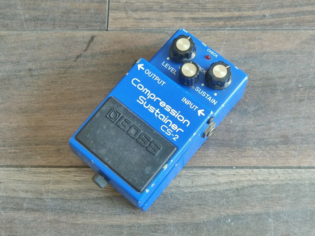 1983 Boss CS-2 Compression Sustainer Compressor MIJ Vintage Effects Pedal