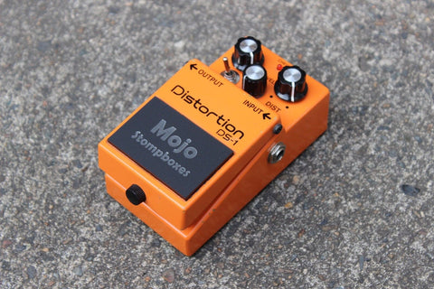 Mojo Mods Modified Boss DS-1 Distortion Effects Pedal