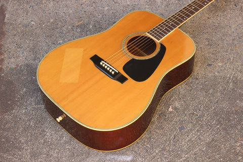 1980's Morris MD-510 Vintage Acoustic Guitar (Made in Japan)