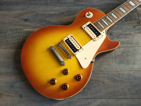 2002 Tokai Japan Love Rock LS80F Les Paul (Sunburst)