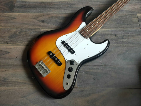 2007 Fender Japan JB-STD MIJ Jazz Bass Standard (Sunburst)