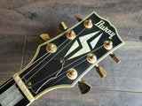 1991 Burny Japan RLC-70 Les Paul Custom (Ebony) Made in Japan