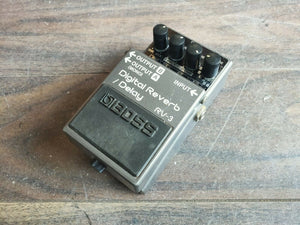 1990's Boss RV-3 Digital Reverb/Delay Effects Pedal