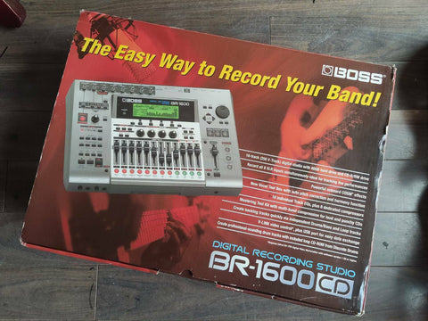 Boss BR-1600CD Digital Recording Studio w/Box
