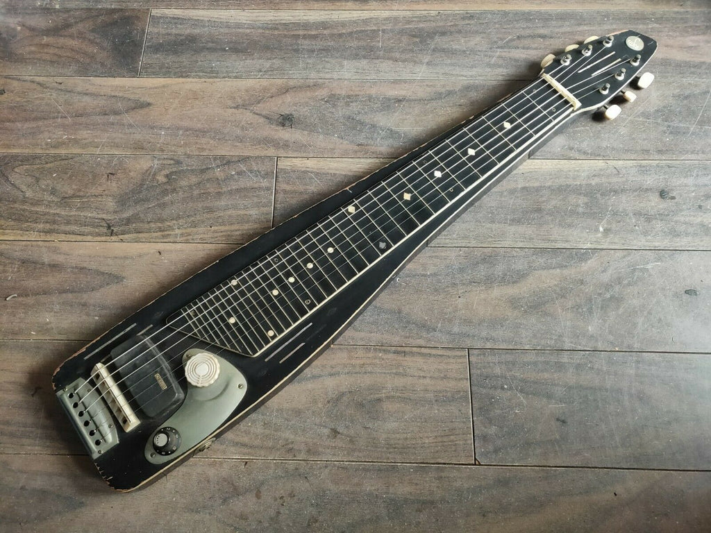 1960's Teisco Japan Model L 6-String Lap Steel Slide Guitar