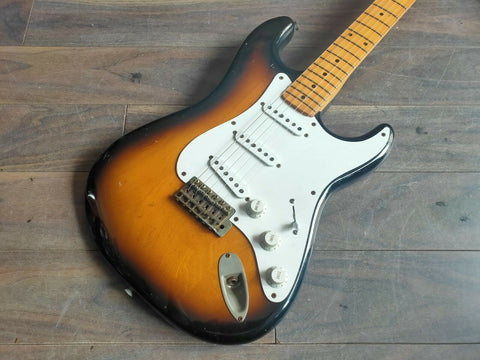 1979 Greco Japan SE-800 Super Sound '54 Reissue Stratocaster (Brown Sunburst)